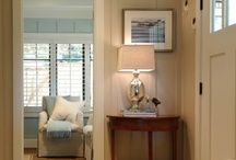 entry way/upstairs hallway / by L D