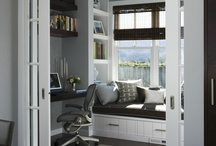 home office/future nursery / by L D