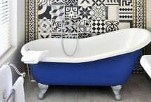 Rub a Dub. / Bathrooms got style, too.