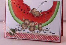 Cards - House Mouse and Friends / by Ema Martinez