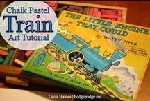 Art and Children's Books / Free art tutorials and lessons to accompany favorite childhood books at www.hodgepodge.me