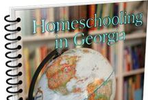 Homeschooling in Georgia / Homeschooling in Georgia Handbook is a free ebook by Jamie Worley and Tricia Hodges. Celebrating living in Georgia - homeschooling, field trips, favorite destinations, traditions and more! http://www.hodgepodge.me/homeschooling-in-georgia-free-ebook/