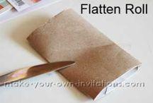 Crafts - Toilet Paper Rolls