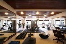 Staying in Shape on Vacation / Plan to stay in a vacation villa that has its own private gym!