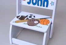 Lil' Sports Enthusiast / Sports gifts and boy's room ideas that will be a big hit in your nursery.