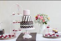 Sweet Candy Table Konzept braun-rosa-cremeweiß / Sweet Candy Table Konzept von www.suess-und-salzig.de Papeterie DIY /Braut und Bräutigam / by suess-und-salzig Torten- & Patisserieservice