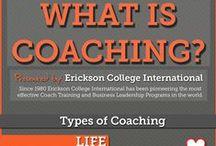 Coaching / Life coaching, personal development coaching, job coaching, etc.