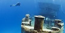 Shiver me timbers / Shipwrecks & underwater scenes give me the heebie-jeebies - which is why I'm planning a story set there. Freaking myself out in the name of art!