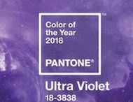 Pantone color of the year 2018 / Ultra violet pantone Color of the year Wedding weddingcakes weddingideas