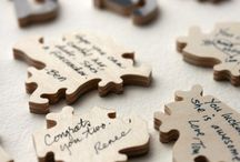 Wedding | Guest Sign-in / Fun Guestbook Ideas