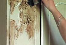 Nothing that a Little Paint Won't Fix / Refurbishing Furniture  / by Elizabeth Huntley