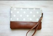 Handmade clutches and purses