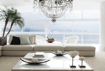 Modern White Interiors~ / White is always chic and elegant~ / by Paula's Expressions~