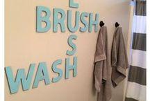 Kids bathroom ideas / by Cecilia's Scribbles