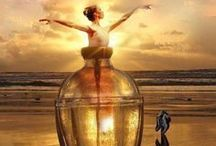 Jinnie in a Bottle / Bookish Inspiration for Jinnie themed books like Exquisite Captive by Heather Demetrius