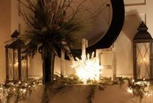 Fireplace Decor / by Cecilia's Scribbles