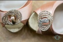 Wedding Shoes / A collection of some of our favorite wedding shoe photos we have captured  / by Carrie Wildes Photography