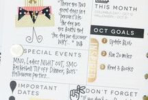 Planner Ideas / by Cecilia's Scribbles