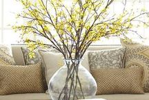 Flower arrangement For The Home Ideas / by Cecilia's Scribbles