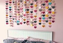 Tween Girls Room Decor / by Cecilia's Scribbles