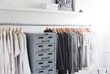 [ closet porn ] / pretty wardrobe storage ideas