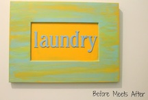 Laundry room / by Lisa@ Before Meets After