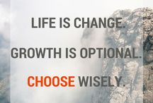 Growth / Words and images that inspire us to grow, evolve and move forward in our work, career and life