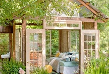 Outdoor Spaces / by Linda Sylvester