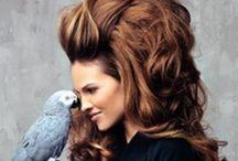 Love hair LOVE / #Hair #ombre  / by Serra Balci Tas