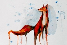 foxes / by Alison Fox