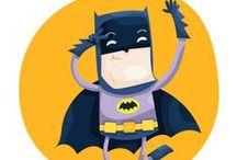 Na na na na.... BATMAN...!!! / by Maria Elena Rodriguez Blas