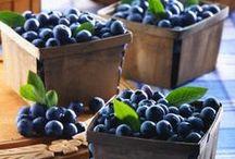 Blueberries / by MaryAnn Velin Denike