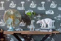 Modern Toile / Toile takes a contemporary twist!