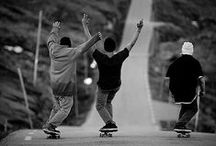 """For the Skateboarders / """"I consider skateboarding an art form, a lifestyle and a sport."""" - Tony Hawk"""