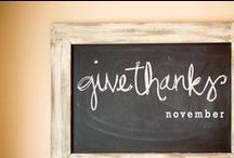 Give Thanks / by Kristi Ward