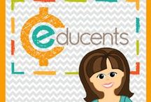 "Maggie's Kinder Resources at Educents / This new store contains some of my top sellers.  And as the quote says, ""Classroom Ready and Kid Tested""!"