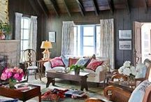 Fab Family Rooms / This is where families hang out so make yours comfy and stylish.