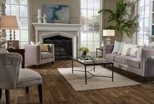 Mannington Living Rooms / Our floors look terrific in every room of the house, especially living rooms.