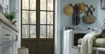 Mannington Laundry Rooms / Our floors look terrific in every room of the house, especially laundry rooms.