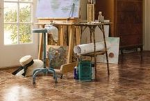 Mannington Retreats / Our floors look terrific in every room of the house, especially home retreat areas.
