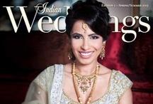 Magazine Covers CSAB / www.csabride.com / by Indian Weddings & California Bride