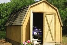 My clean garage/shed.....someday / by Lisa Charters Jordan