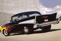 HARLEY & CLASSIC CAR LUST / I AM LITERALLY OBSESSED WITH HARLEY DAVIDSON'S AND CLASSIC CARS!!  LOVE ALL KINDS OF CLASSIC CARS, ESPECIALLY ANYTHING FROM THE 30'S-70'S!!  CHEVY'S ARE THE BEST, IMO!!!  MOST IMPORTANTLY THE CHEVY BEL AIR, IT IS MY ALL TIME FAVORITE DREAM CAR!!!   / by Jaimie Addesso