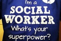 Social Work / Social workers are committed to the alleviation of poverty and oppression, the promotion of human rights and social justice, and the development of individuals, families, groups, and communities.