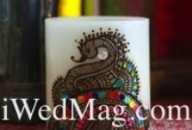 Henna Candles / Contact Rachna at HennaandBeyond.com for the perfect gift for your wedding guests!