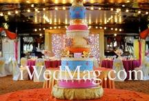 Henna Cakes / http://www.csabride.com/henna-cakes-sweet-beginnings/