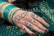 Manicure + Henna / http://www.csabride.com/manicures-henna/