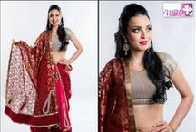 Vibha Fashions: Indian Weddings Magazine Preferred Vendor / https://www.facebook.com/ViBha.Vogue
