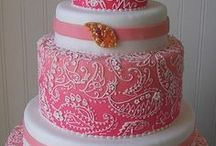 Wedding Cakes, Pink. Indian Weddings Magazine / Indian Wedding Inspirations: Pink Wedding Cakes / by Indian Weddings & California Bride