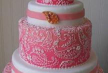 Wedding Cakes, Pink. Indian Weddings Magazine / Indian Wedding Inspirations: Pink Wedding Cakes